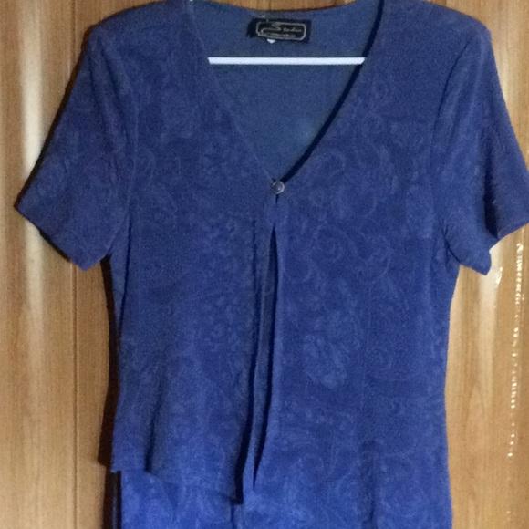 616592514663a studio onnection Dresses   Royal Blue Maxi Dress   Poshmark
